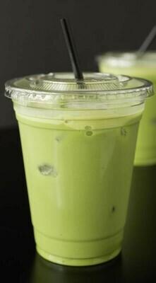 Iced Matcha Green Tea Latte (24oz)