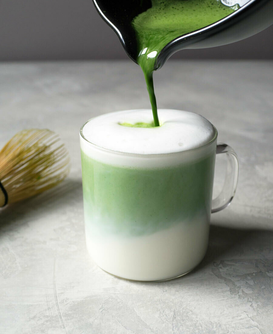 Matcha Green Tea Latte (12oz)