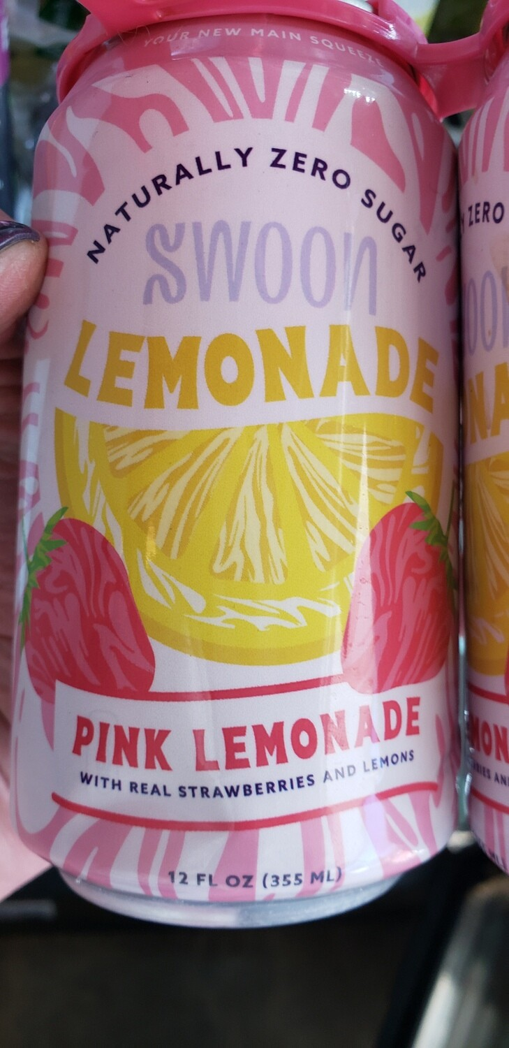 Swoon Naturally Zero Sugar Drinks (12oz can)