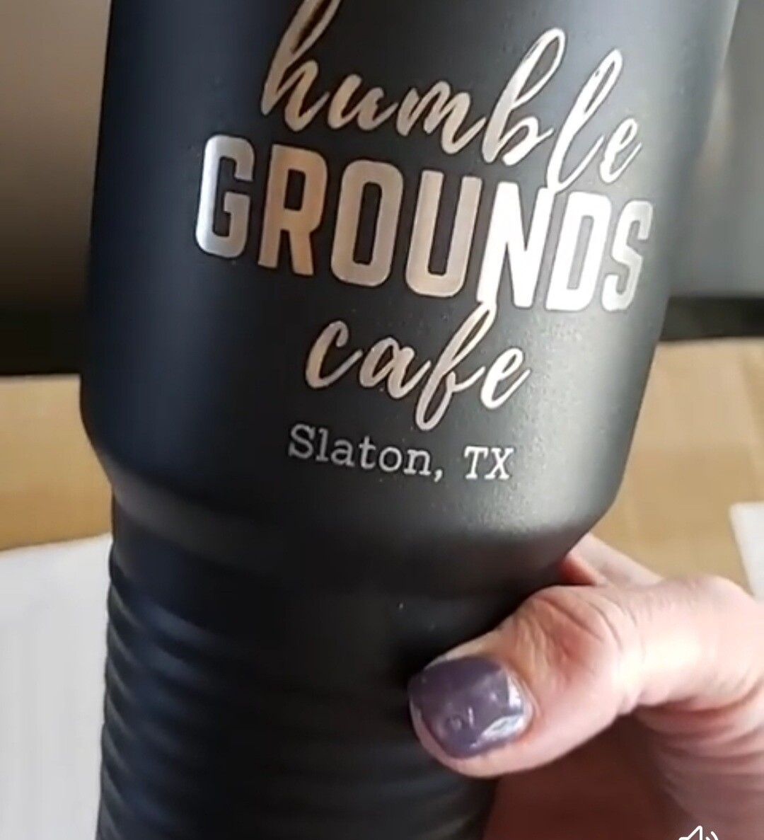 humble GROUNDS insulated tumbler