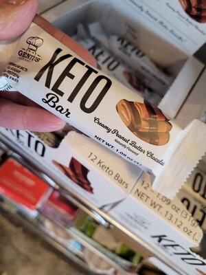 Genius Gourmet Keto Bar