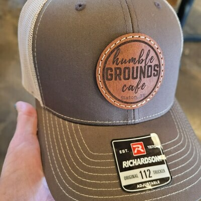 humble GROUNDS Cap (Mesh/Brown/Leather Badge)