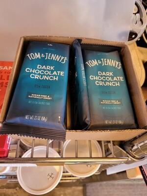 Tom & Jenny's Chocolate Bars (SF, Keto)