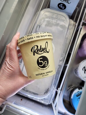 Rebel Keto Ice Cream (Pint)