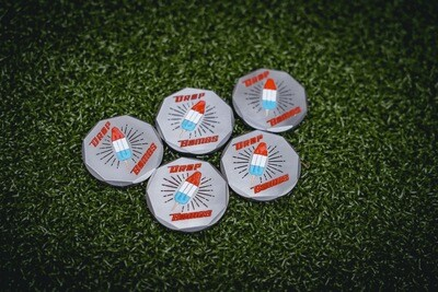 Drop Bombs Limited Edition Ball Marker