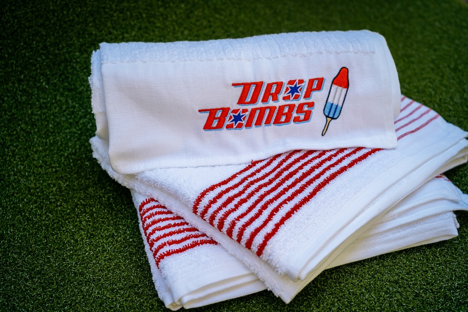 Embroidered Caddy Towel