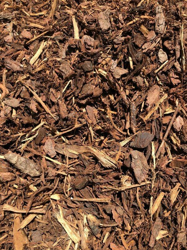 Pine Bark Mulch Large (shredded)