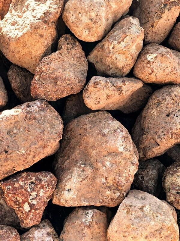 Coffee Rock Spalls