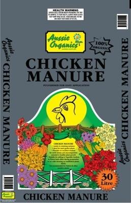 Chicken Manure 30Ltr
