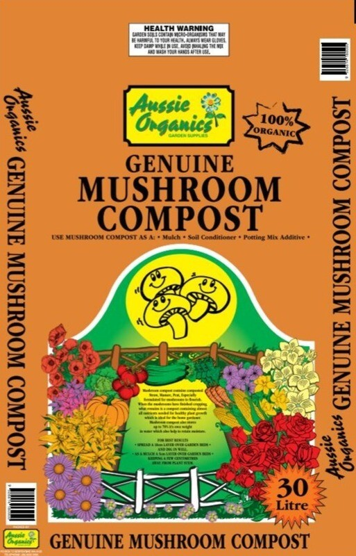 Mushroom Compost 30Ltr