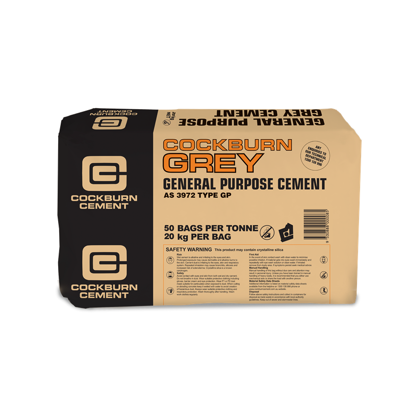 Cockburn Gp Grey Cement 20kg