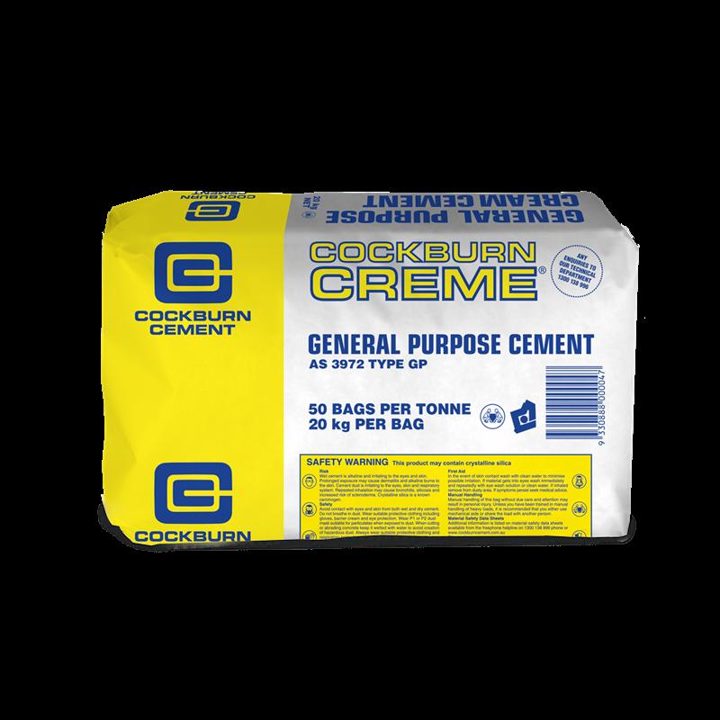 Cockburn GP Cream Cement 20kg