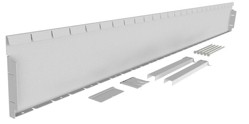 Straightcurve 240mm x 2.16m Galvanised - Flexline