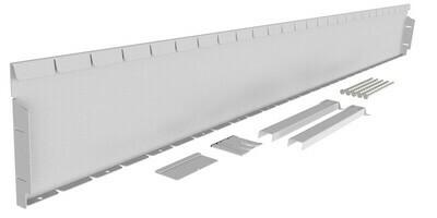 Straightcurve 240mm x 2.16m  -  Galvanised