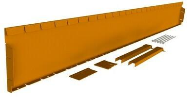 Straightcurve 240mm x 2.16m  -  Rust