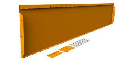 Straightcurve 400mm x 2.16m  -  Rust