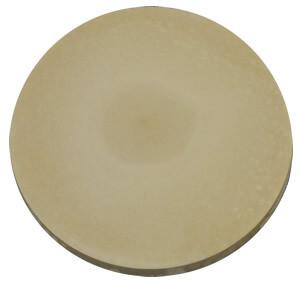 370mm Round Slab Cream