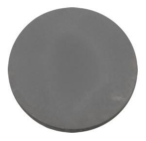 370mm Round Slab Charcoal