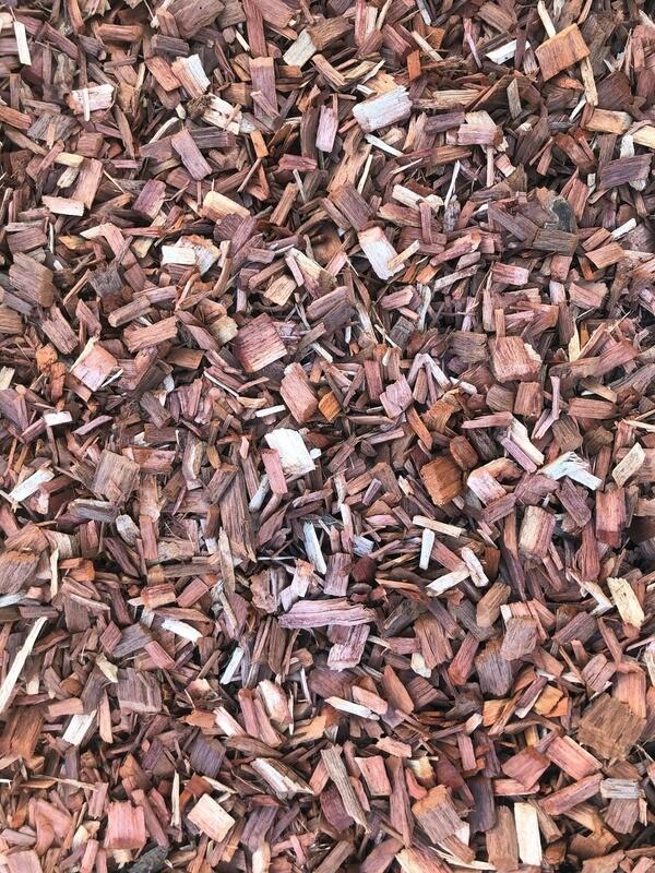 Hard Wood Chip Mulch
