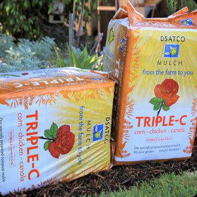 Dsatco Triple C Eco Mulch 100L