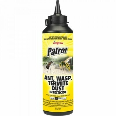 Patrol Ant, Wasp & Termite Dust 350G