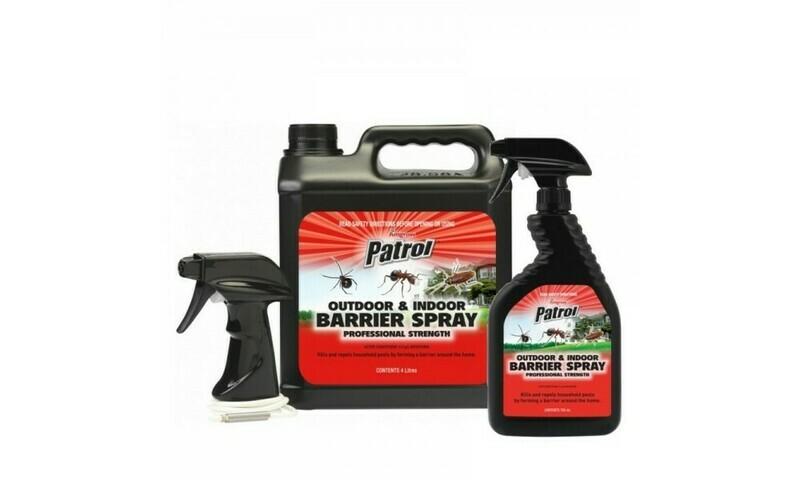 Patrol Oudoor & Indoor Barrier Spray RTU
