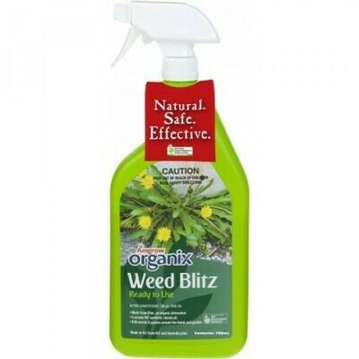 Organix Weed Blitz RTU 750ML