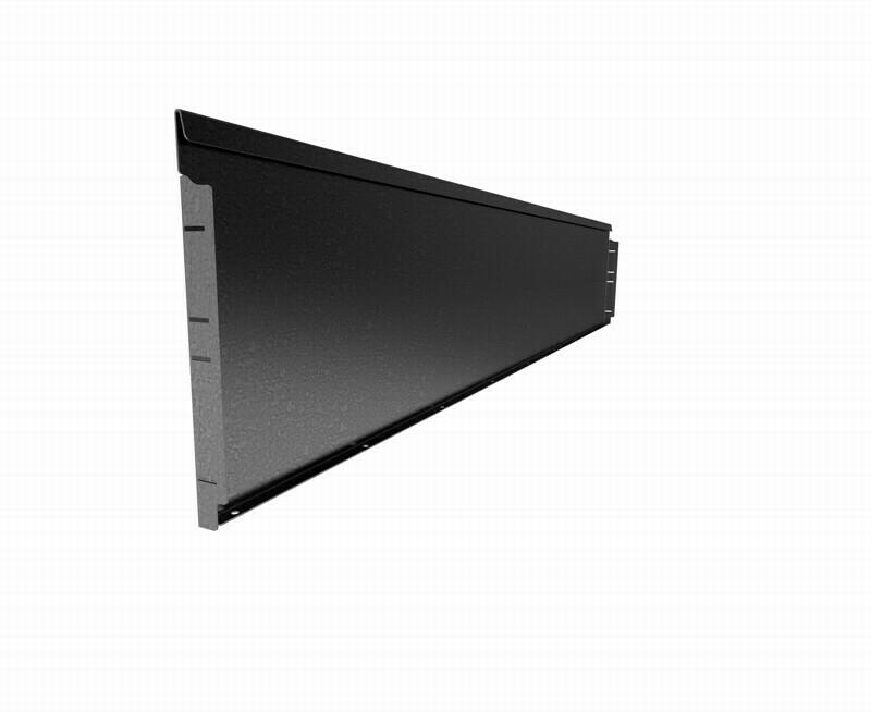 Straightcurve 400mm x 2.16m Galvanised - Rigidline