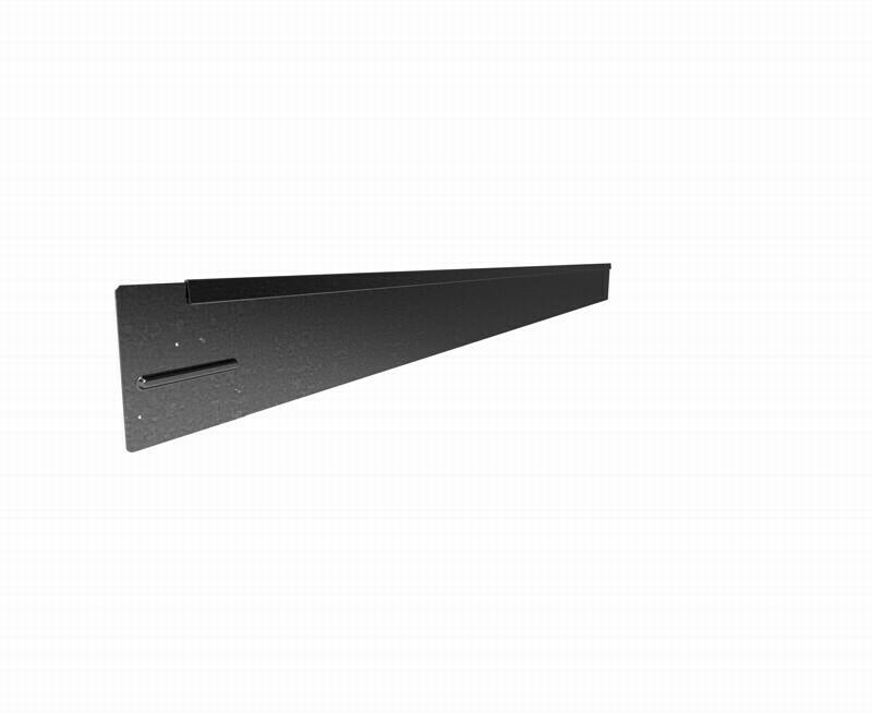 Straightcurve 150mm x 2.2m Galvanised - Rigidline