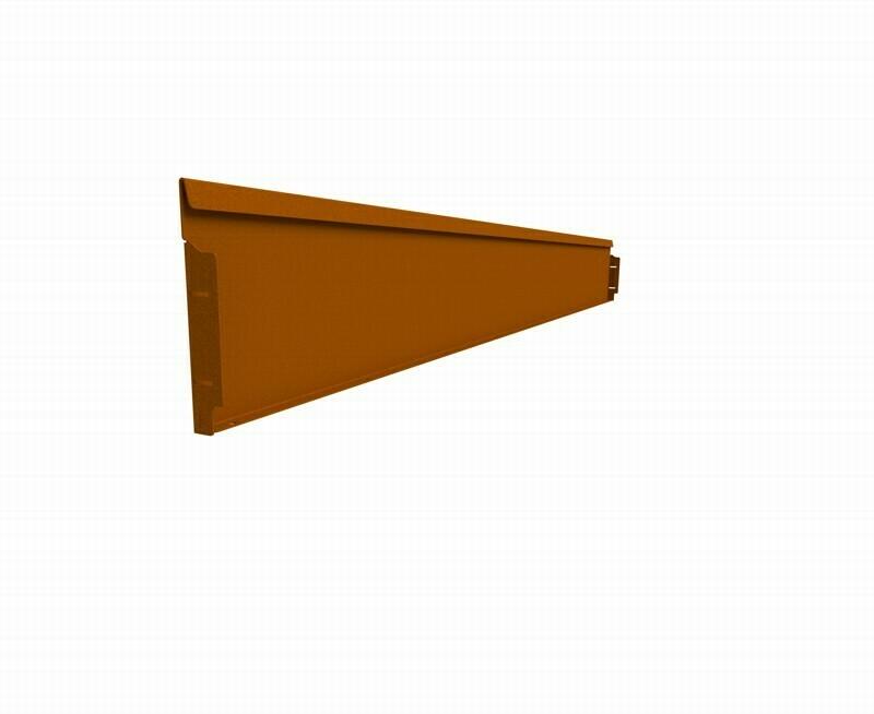 Straightcurve 240mm x 2.16m Rust - Rigidline