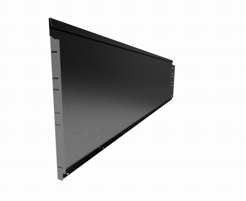 Straightcurve 560mm x 2.16m Galvanised - Rigidline