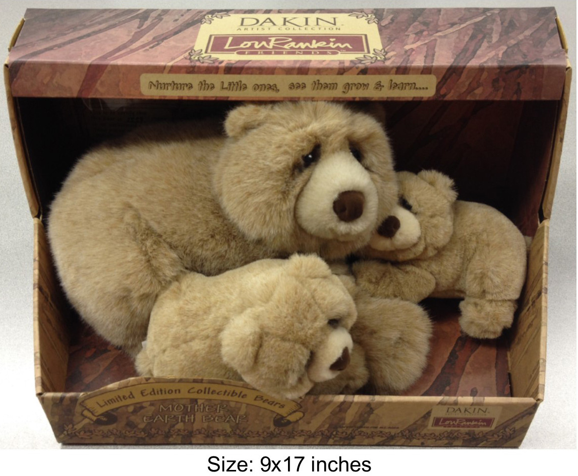 Limited Edition Collectible Bear Family