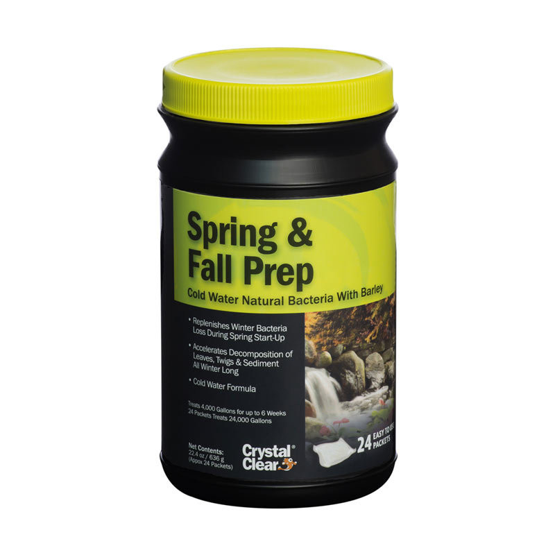 Crystal Clear Spring & Fall Prep - 24 Packets