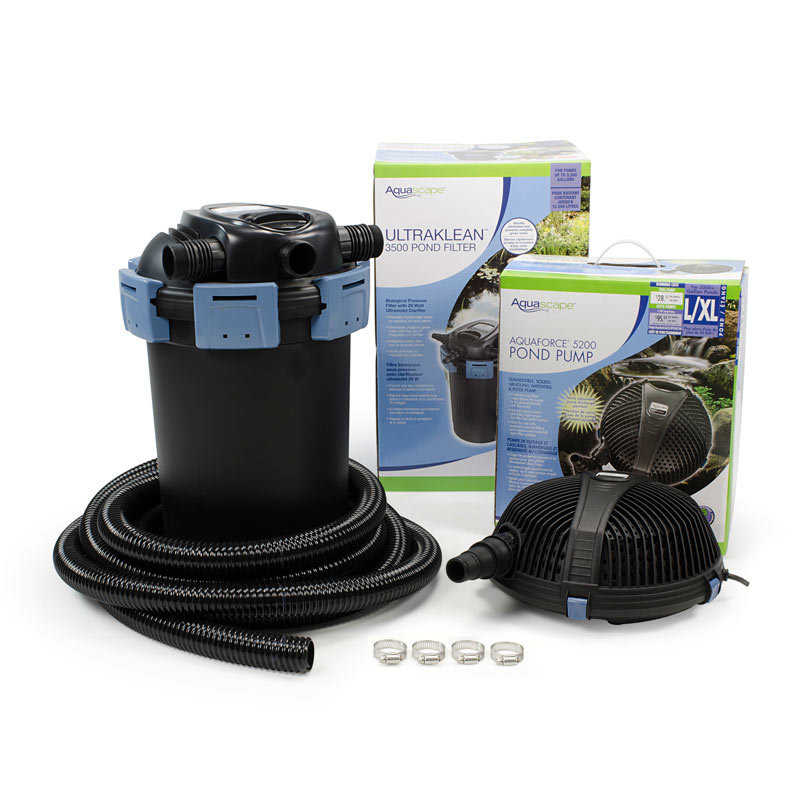 Aquascape UltraKlean 3500 Filtration Kit