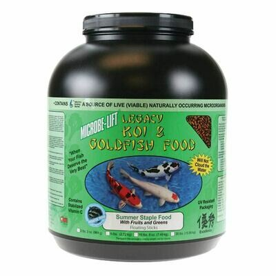 Microbe Lift / Legacy Fruits and Greens Koi Food - 4 lbs 8 oz