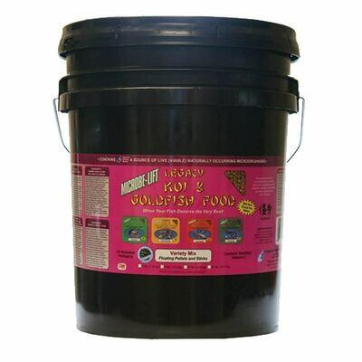 Microbe Lift / Legacy Variety Mix Koi Food - Bucket