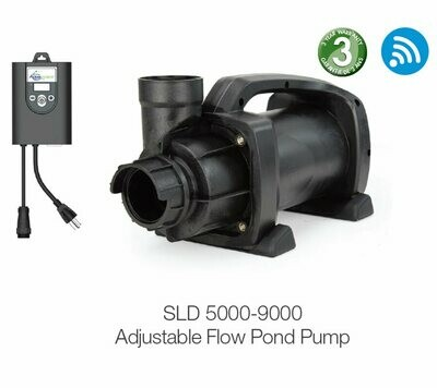 SLD 5000-9000 GPH Adjustable Flow Pump by Aquascape