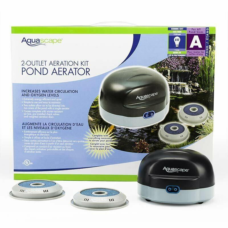 Aquascape 2 Outlet Pond Aerator