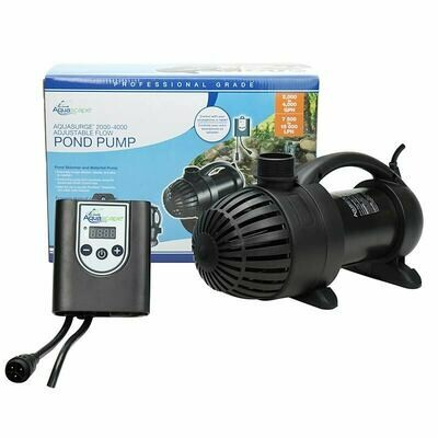 AquaSurge Pro 2000-4000 GPH Remote Controlled Pump
