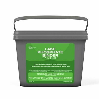 Lake Phosphate Binder Packs - 192 Packs (4 lb) Pail