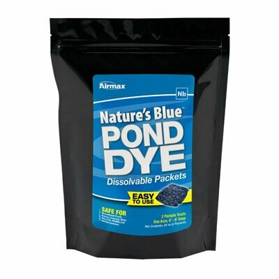 Natures Blue Pond Dye Packets - 4 pack