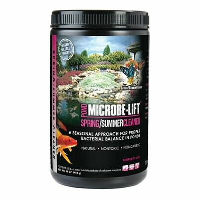Microbe-Lift Spring / Summer Cleaner 8 2-oz Packets