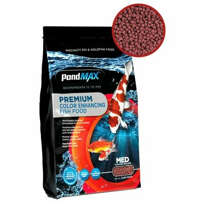 PondMax Premium Colour Enhancing Koi Food 10 lb