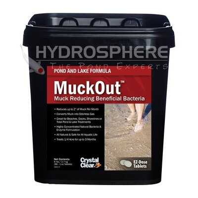 CrystalClear Pond & Lake MuckOut - 6 lbs
