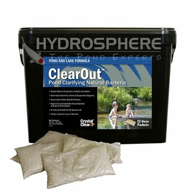 CrystalClear Pond & Lake  ClearOut - 24 lbs