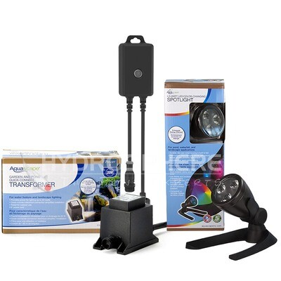 LED Colour-Changing 4.5-Watt Spotlight Kit by Aquascape