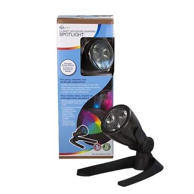 LED Colour-Changing 4.5-Watt Spotlight by Aquascape