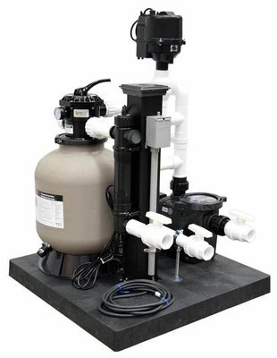 Complete Skid Mounted Filtration System - 1800 Gallons