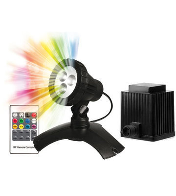 PondMax 1.9W Small LED Colour Changing Light Starter Kit with Transformer