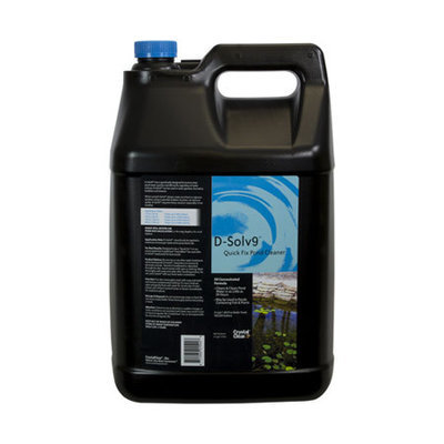 ProFix (formerly) D-Solv 9 Complete Pond Cleaner & Algae Control - 2.5 Gallon